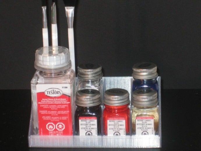 tray rack testors paint b