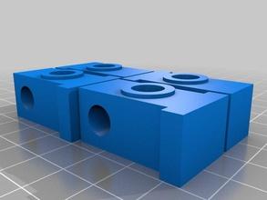 mosiac foot bushings 3d printer accessories filament holder reel spool