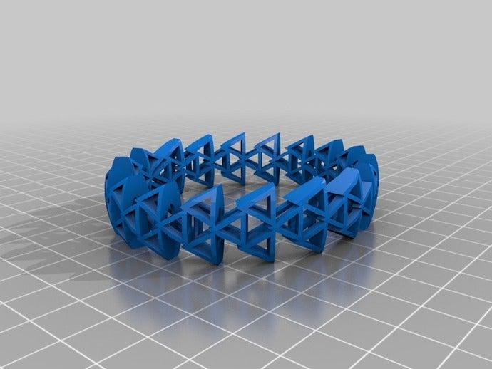 trinalge bracelet basic b