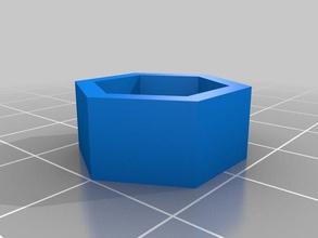 simple reduction m10 hex nut m8 hex nut 3d printer parts