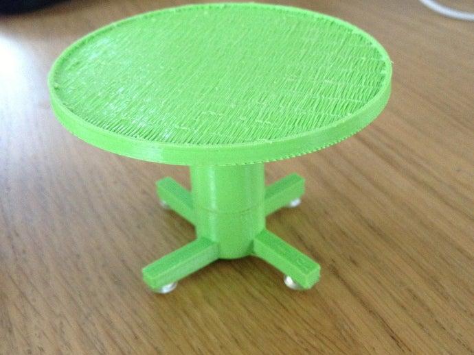 mini rotating table diy
