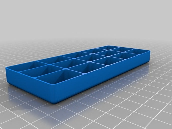 my customized square tray