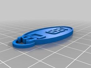 chaveiro 3d eav keychains customized
