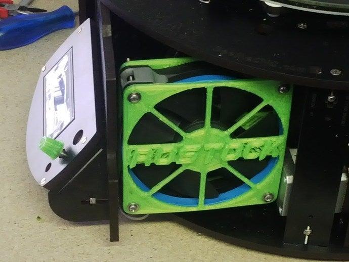 120mm fan grille 3d print
