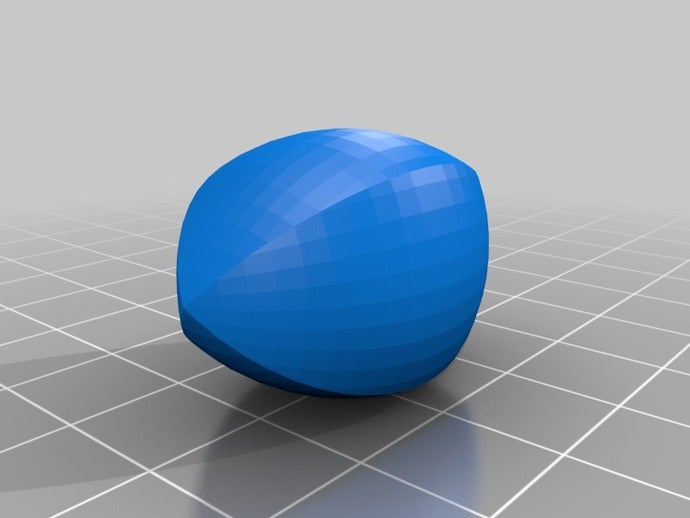 football thing openscad s
