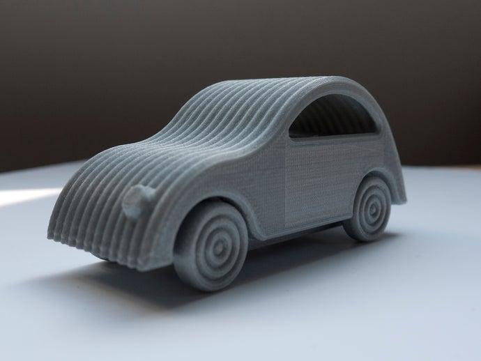 little printed cars 2cv t
