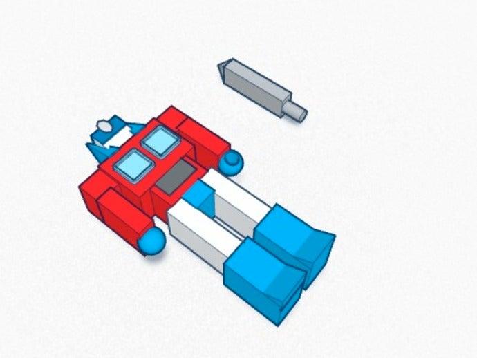 optimus prime g1 3d print