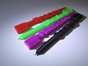 advanced word penna office customizer openscad parametrico