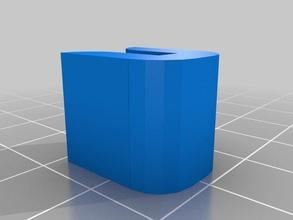 il mio personalizzato lastra di vetro heatbead vetro clip solo 3d la stampante accessori