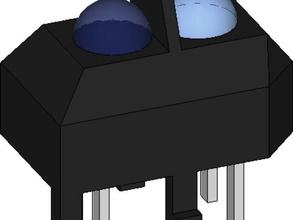 tcrt5000 l'elettronica sensore a infrarossi sensore ottico sensore a riflessione tcrt5000l