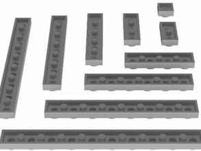 piastre standard universale giocattolo mattoni utb costruzione giocattoli