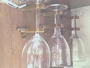 wine glass holder camper wohnmobil kitchen dining beer