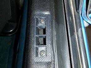 corvette c4 side window air vent updated automotive