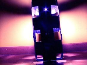 luce nera cubo altri la lampada il taglio laser di plastica spagna esapa laboral