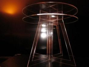 ghiaccio tabella altri metacrilato doppio tavolo laboral taglio laser