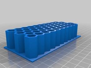 Munition tray 223 honeycomb-Stil 5x10 tool Inhaber - Boxen Kugel reload nachladen