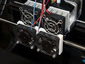 print pla replicator 2x upgrade 3d printer parts 3dprintler 3d print 3d printer 3d printing ces2014 fan upgrade fillament pla upgrade replicato 2