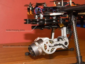 sony nex 5 brushless gimbal rc vehicles 2 2 axis 5n 5r 5t folding frame fy680 gopro hero hexacopter nex 5n nex 5r nex 5t tarot