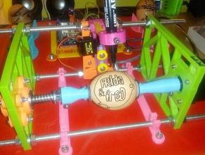 egg plotter floor holder 3d printer accessories eggbot ei plotter