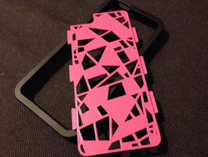fraemesopen in frantumi iphone 55s design mobile caso il caso di iphone telefono cellulare