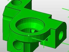 rapman bottom corners 3d printer parts bfb bitsfrombytes rapman parts rapman upgrade rapman upgrade part