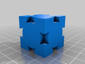 face-centered cubic lattice physics & astronomy crystal face-centered cubic fcc lattice space filling model