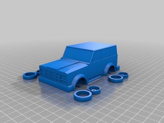 my customized jeep toys g