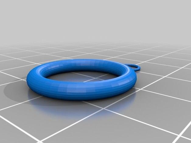 rings key chain bracelet