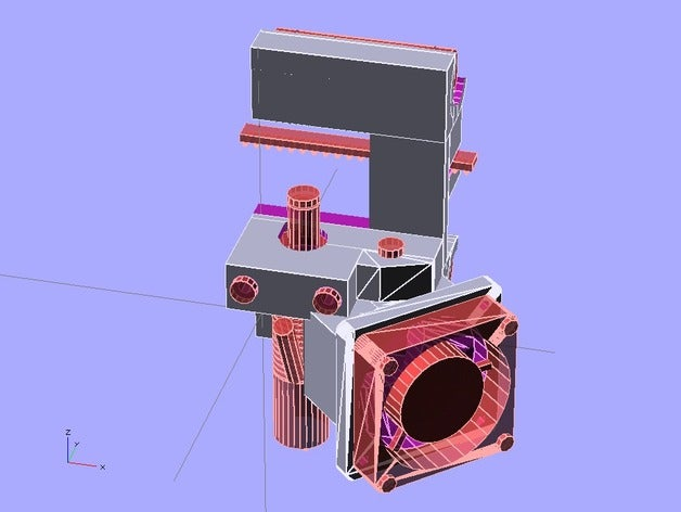 pico extruder mount bowde