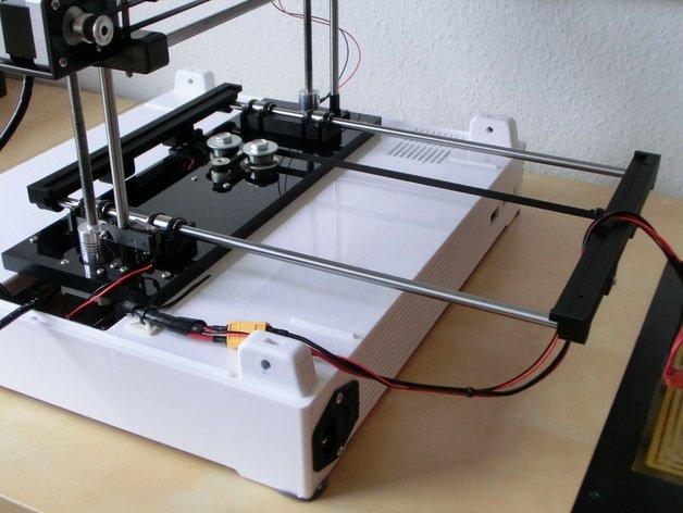robo3d y-axis smooth rod