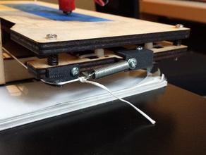 tensioner axis printrbot simple 3d printer accessories belt tensioner printerbot printerbot mod printerbot upgrade printrbot upgrade