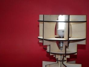 lari lampada arredamento art esapa fablab laboral lasercut di taglio laser il design di prodotto