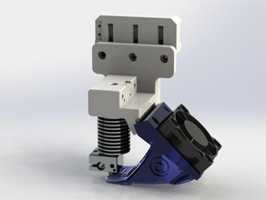 40mm extrusion fan duct prusa i3 extruder we3dv6 printer extruders 40mm fan 40mm fan mount 40mm 40mm fa 40x40 40x40mm 40x40x10 40x40 fan active active cooling air duct bridge bridging draft 1 e3d hotend extrusion duct extrution fanduct iteration 1 iteration 2 iteration 3 maglev prusai3 reprap stl