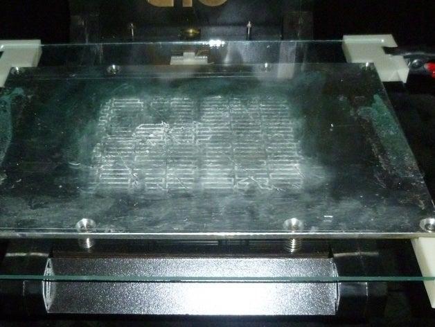heat bed 8x10 glass 6x9 h