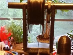 filament roll holder extra wide struts 3d printer accessories filament guide filament holder filament spool filament spool holder makerstoolworks mendelmax mendelmax 2