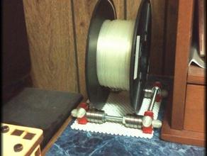 universal filament spool cradle endcaps 3d printer accessories desktop spool cradle desktop spool holder filament spool holder spoolholder universal cradle universal spool universal spool holder