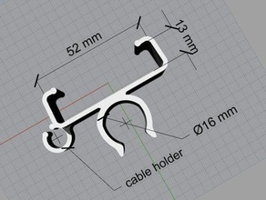 rc305 video rx holder clip 16mm pipe vehicles 16mm diameter 16mm tube 16 mm av revicer holder clip rc305 16mm pipe rc305 holder rc 305 vrx rc 305 vrx holder vtx holder