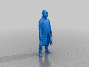 collectible intern statuette people full body scan