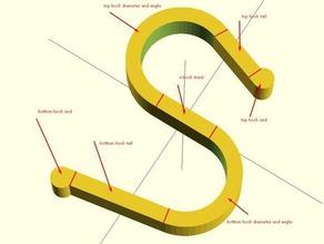 parametric s-hook diy hook parametric parametric hook parametric s-hook parametric s hook s-hook s hook