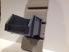 suncast slat wall bin holder tool holders & boxes bin bin holder slat slat wall suncast