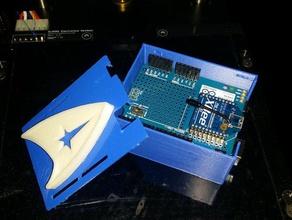 arduino uno case wireless proto shield l u l diy l u l
