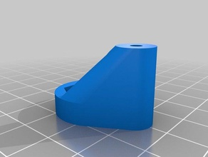 auto-leveling probe mount 3d printer accessories auto level auto leveling bed auto level bed auto leveling printerbot simple printrbot print bed auto level