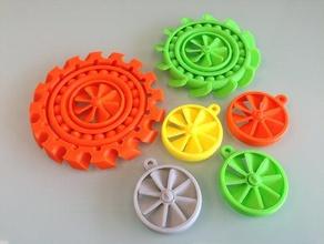 spinning spinning more spinning mechanical toys bearings fidget spinner fidget toy keychain keyring propeller propellers spinning