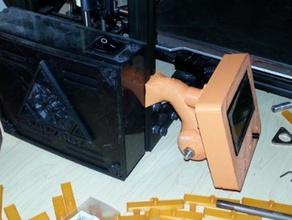 geeetech sainsmart lcd case pivoting frame 3d printer accessories geetech lcd case lulzbot taz sainsmart lcd sainsmart megatronics lcd12864