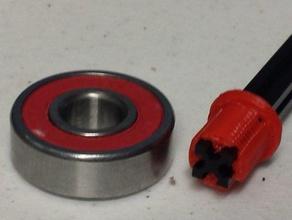 nanobeam bearing bushing robotics 8020 bearing makerbeam microrax nanobeam openbeam solidoodle solidworks square