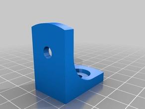 corner brace 20mm aluminum extrusion 3d printer parts 2020 2020 extrusion angle angle brace corner corner brace extrusion brace