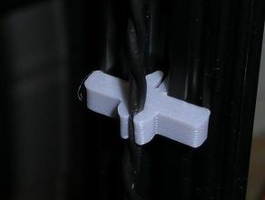 openbeam wire clips 3d printer accessories 15mm 15mm openbeam cable clip kossel kossel mini openbeam organizer wire