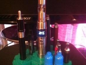 hexa e-cigarette stand organization e-cig e-cigarette e-go e-smoking e-zigarette kanger vape stand