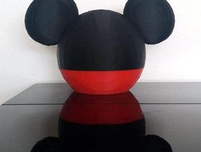 mickey la souris de l'argent de la boîte décor de disney mickeymouse mickey mouse tirelire l'argent de la boîte petit cochon tirelire en forme de cochon