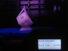 sierpinski n3 sprued math art lost pla casting printer torture test rapid manufacture rapid manufacturing sierpinski sierpinski cube zenbo